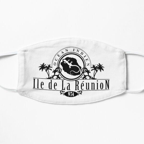 La Reunion et margouillat version 2 Masque taille M/L