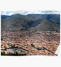 The Royal Capital of Cuzco Poster