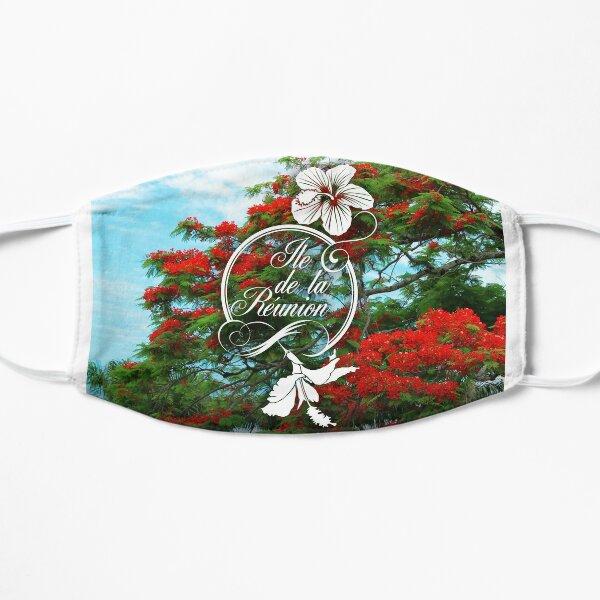 974 Ile de la Reunion - Flamboyant & Hibiscus Masque taille M/L