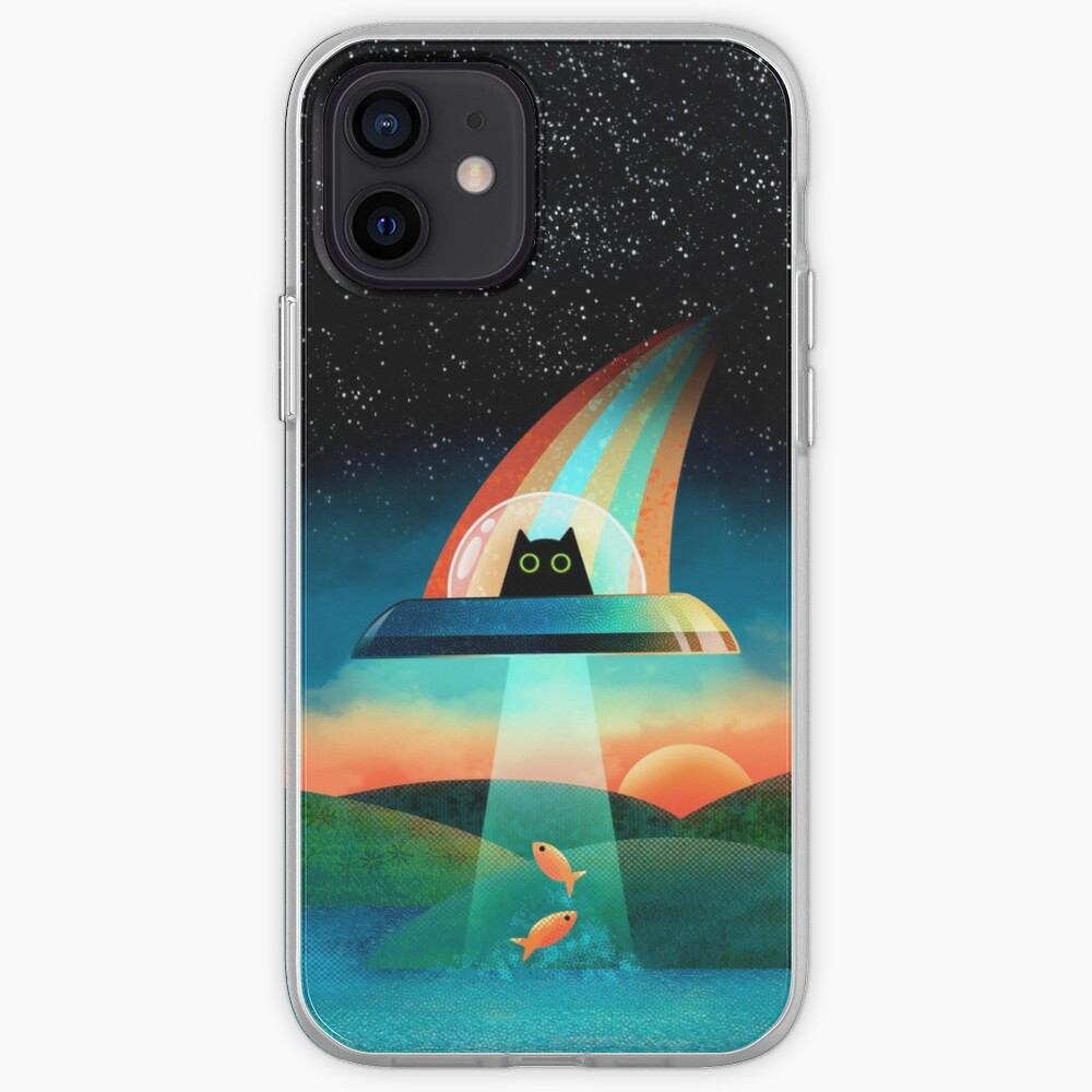 The Purrfect Alien  iPhone Case & Cover