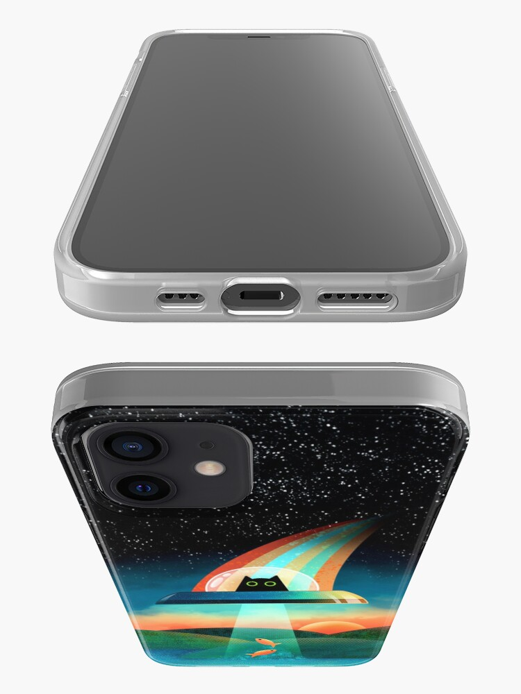Alternate view of The Purrfect Alien  iPhone Case & Cover