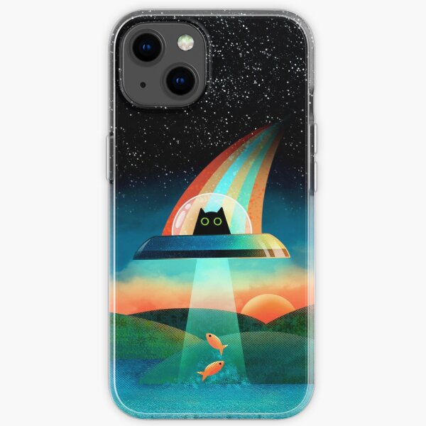 The Purrfect Alien  iPhone Soft Case
