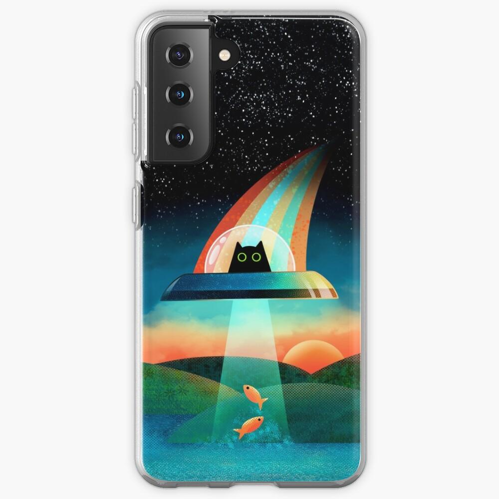 The Purrfect Alien  Case & Skin for Samsung Galaxy