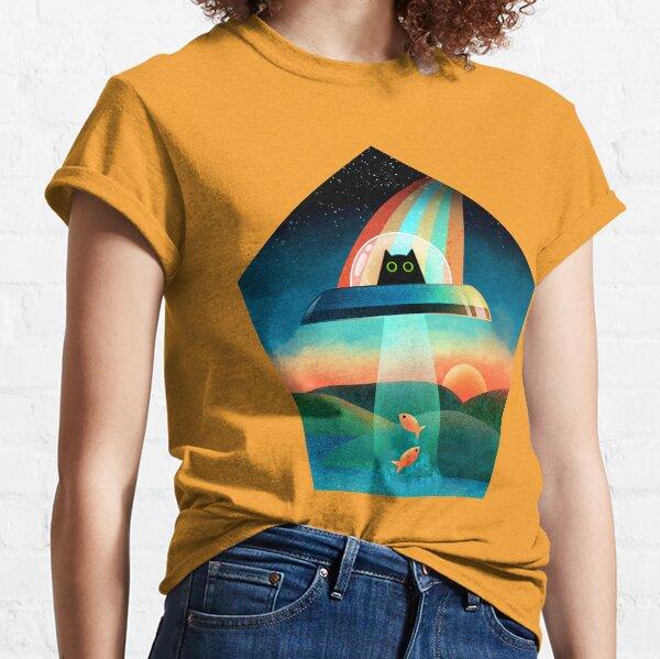 The Purrfect Alien  Classic T-Shirt
