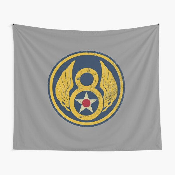 WW2 Eighth Air Force (distressed) Tapestry