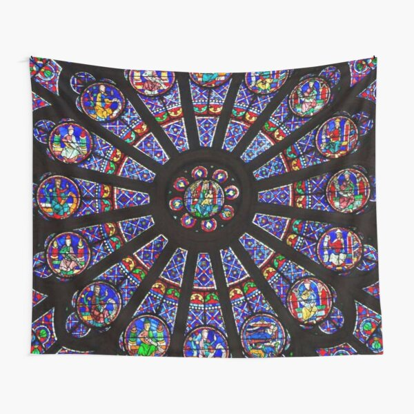 Notre-Dame Rose Window Tapestry