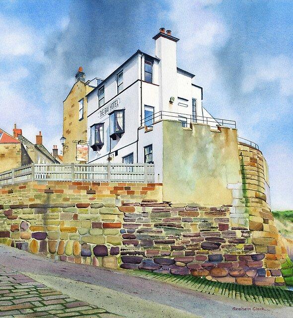 The Bay Hotel, Robin Hoods Bay, North Yorkshire Coast by Graham Clark