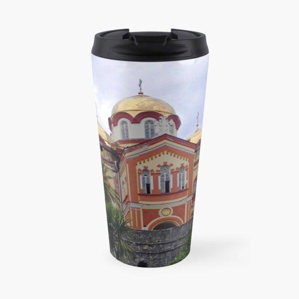 temple in Abkhazia Travel Mug