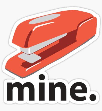 Mine Sticker