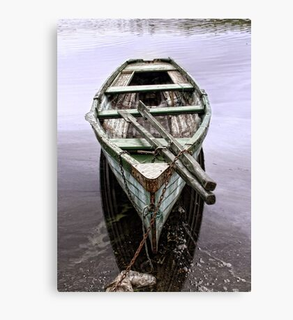 Messing on the Water Canvas Print