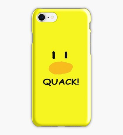 quack quack quack iPhone Case/Skin