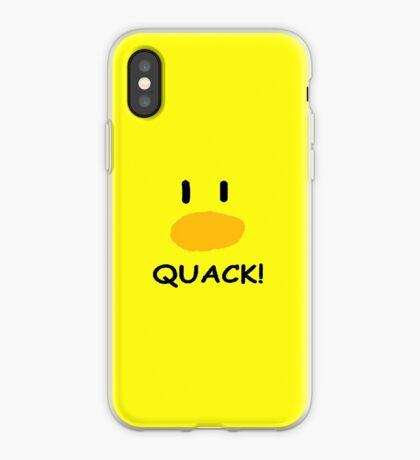 quack quack quack iPhone Case