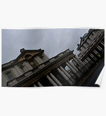 Historic Architecture standing in London Poster
