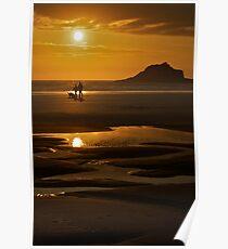 Crantock Beach  Poster