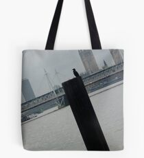 Bird standing  Tote Bag