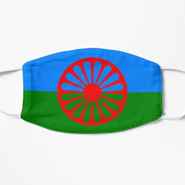 Flag of the Romani people Flat Mask
