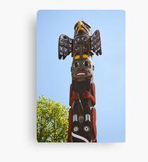 Totem Pole Canvas Print