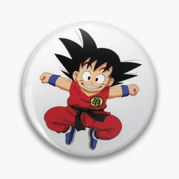 Kid Goku retro Pin