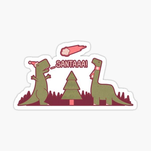 Merry Extinction Sticker