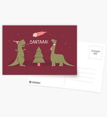Merry Extinction Postcards