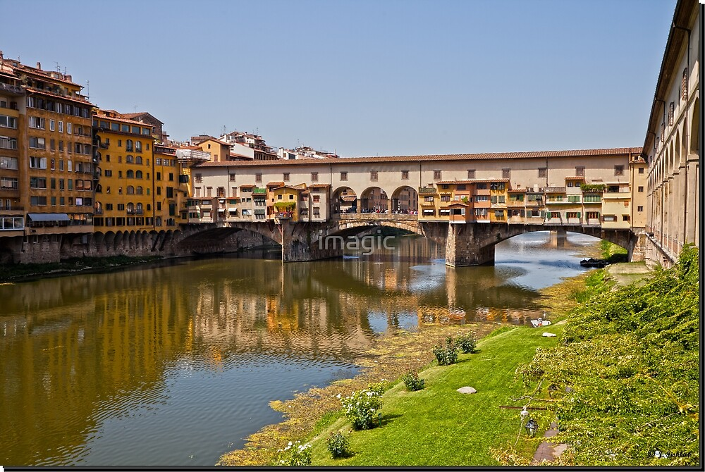 Florence / Ponte Vecchio - Gold Bridge by imagic
