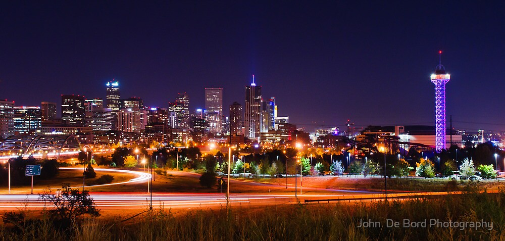 City Of The Plains by John  De Bord Photography