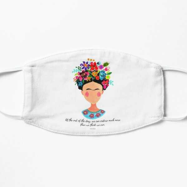 At the end of the day Frida Flat Mask