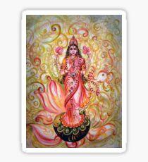 Lakshmi Darshnam Sticker
