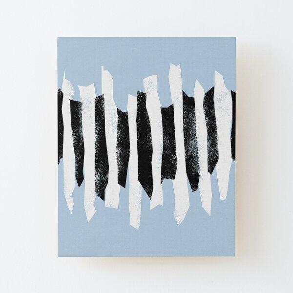 Abstract Musical Piano Art  Wood Mounted Print