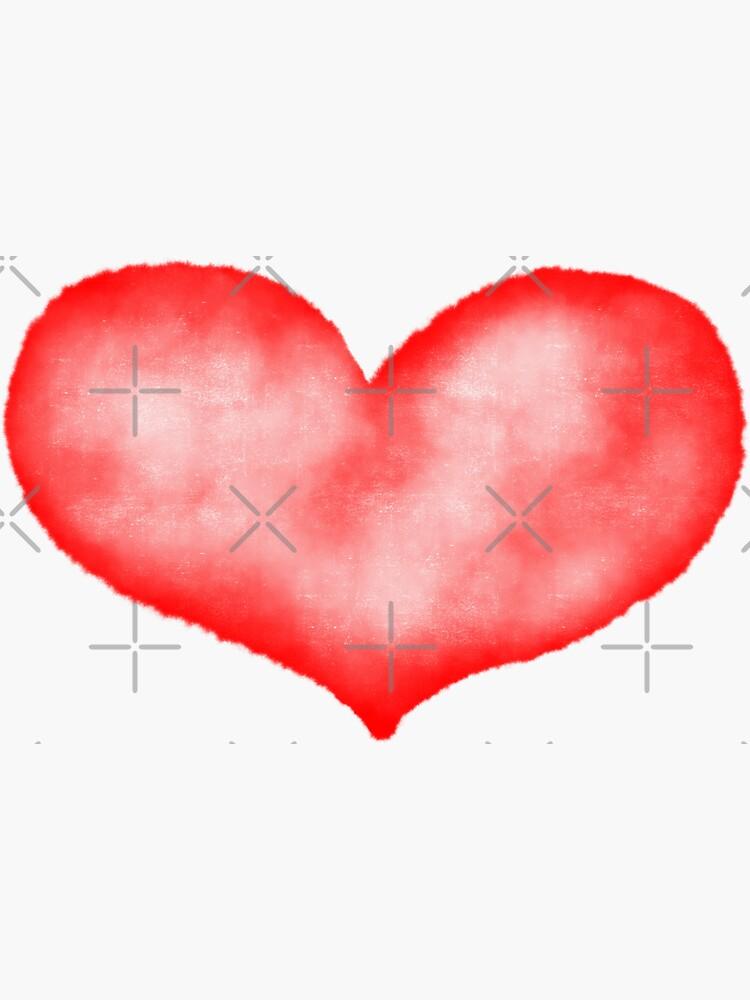 Watercolor heart by darcidoodlewent