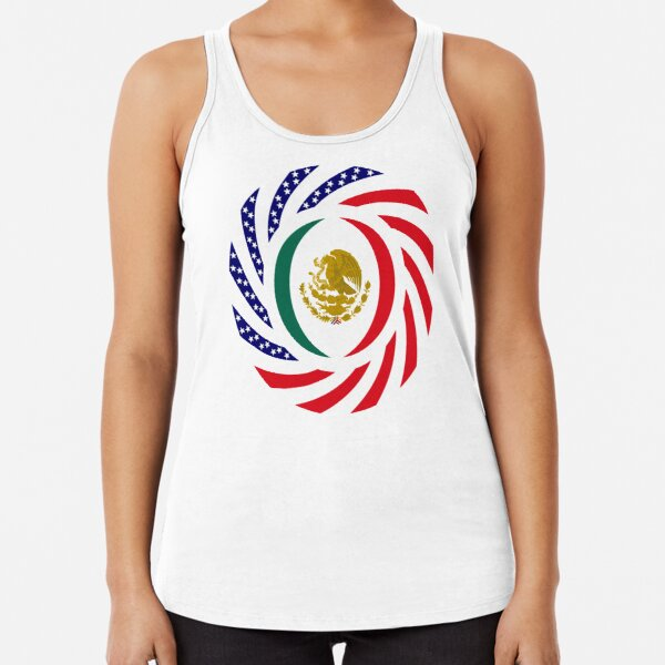 Old Glory 4th Of July Meowica Black Adult Tank Top