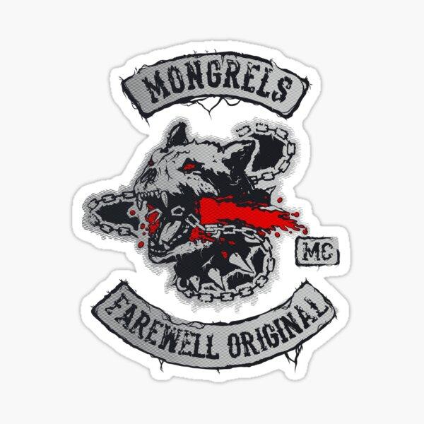 MONGREL FAREWELL ORIGINALS Sticker