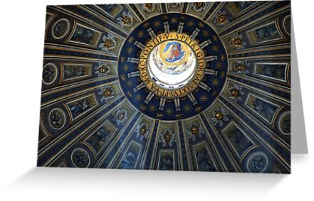 Duomo St. Peter's Basilica Rome by Bob Christopher