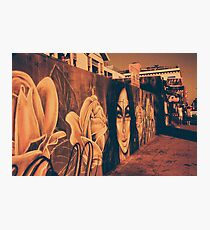Street Art in California Photographic Print