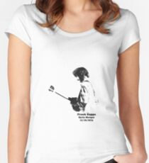Frank Zappa--Syria Mosque 1974 Women's Fitted Scoop T-Shirt