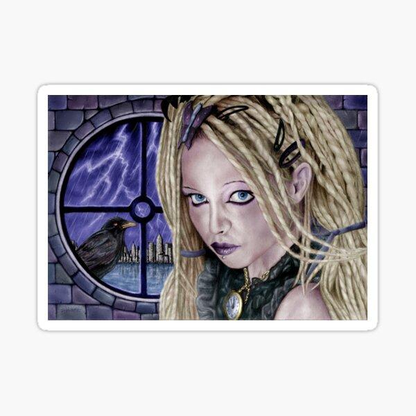 Stormbringer - Colour Version. Original art by Dean Sidwell Sticker