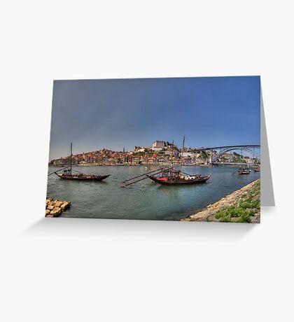 Porto - Rabelos Greeting Card