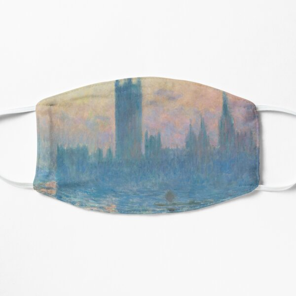 The Houses of Parliament Sunset Flat Mask