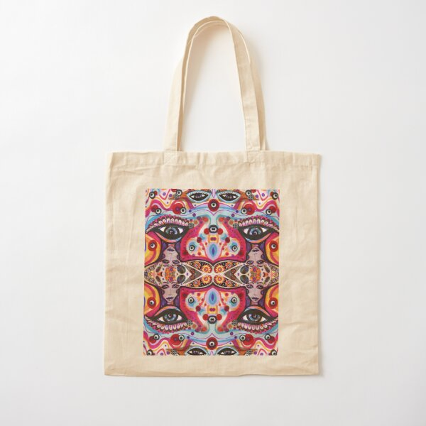 I Am All Eyes Cotton Tote Bag