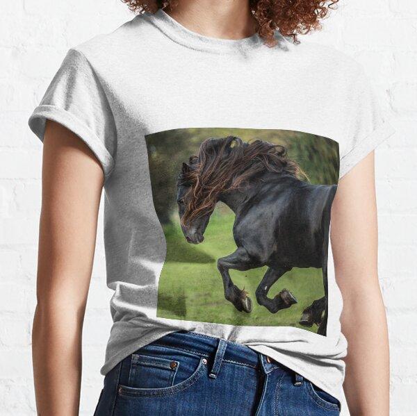 The Friesian Experience - Beautiful Black Beauty Friesian Horses Classic T-Shirt
