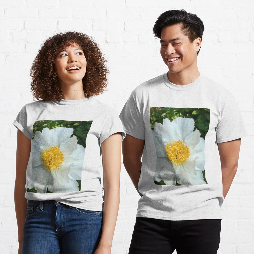 Floral Gift - Chinese Peony Photography - Gardening Present Classic T-Shirt
