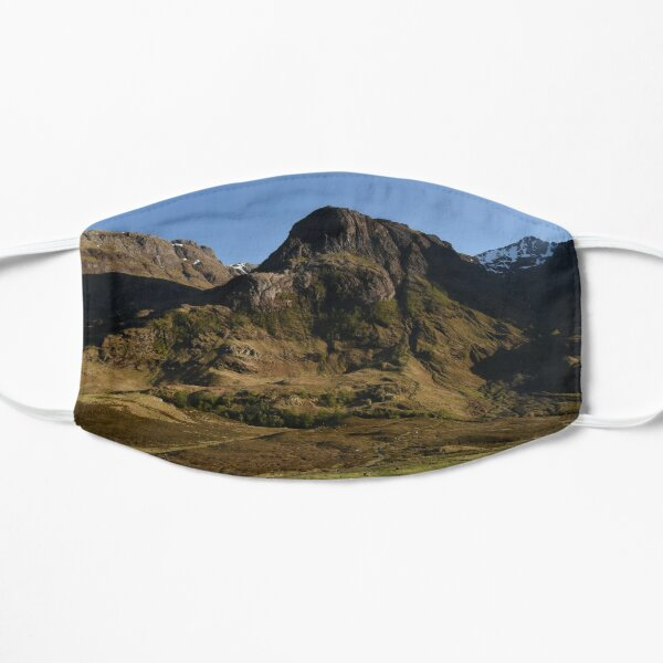Glencoe on a summer afternoon  in the Highlands of Scotland Flat Mask
