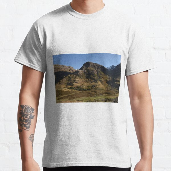 Glencoe on a summer afternoon  in the Highlands of Scotland Classic T-Shirt