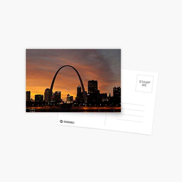 St. Louis Missouri at Sunset Postcard