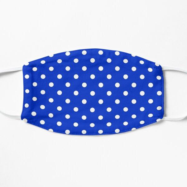 Royal Blue & White Polka Dot | Classic Pattern Mask