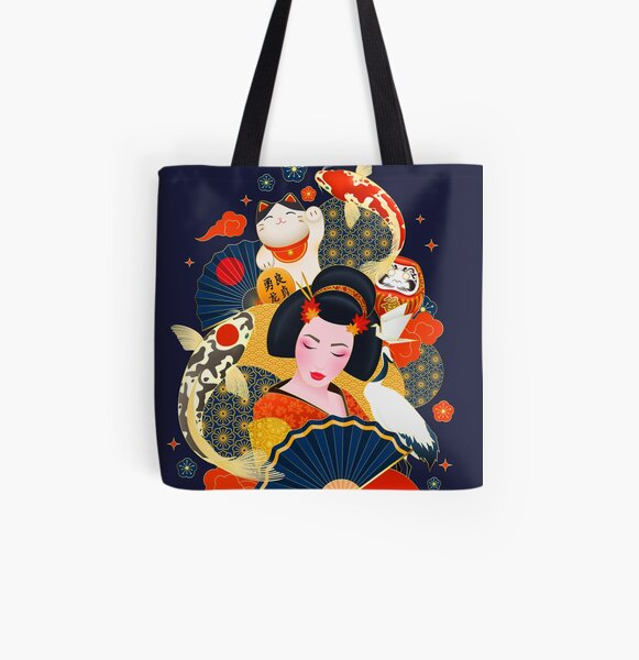 Welcome to Japan All Over Print Tote Bag