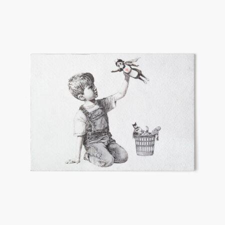 Game Changer - Banksy Art Board Print