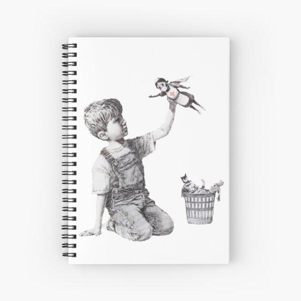 Game Changer - Banksy Spiral Notebook