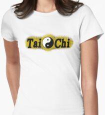 T'ai Chi Ch'uan T-shirt T-shirt col V femme
