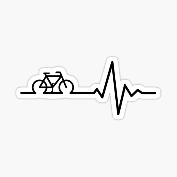 La vie à vélo Sticker